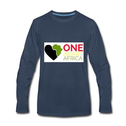 ONE HEART AFRICA - Men's Premium Long Sleeve T-Shirt
