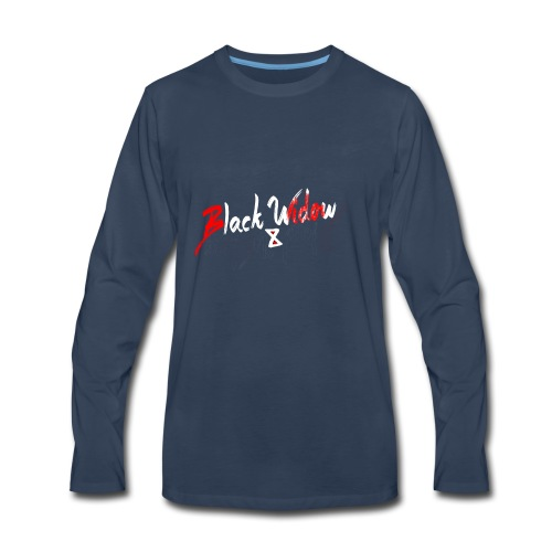 Black Widow - Men's Premium Long Sleeve T-Shirt