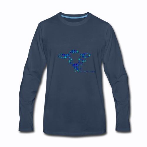 cow multi - Men's Premium Long Sleeve T-Shirt