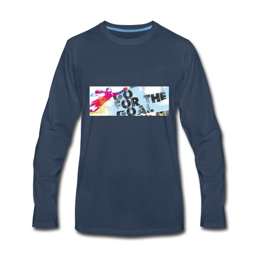 GoForTheGoal Official Products - Men's Premium Long Sleeve T-Shirt