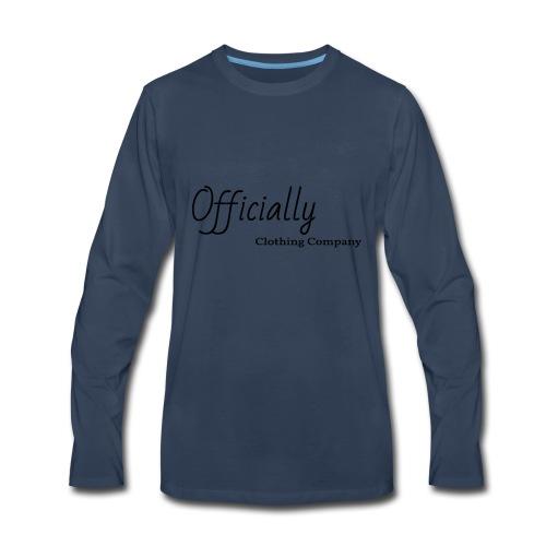 Officially CL - Men's Premium Long Sleeve T-Shirt