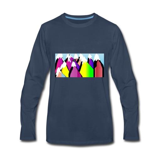 LIVERUNFLY - Men's Premium Long Sleeve T-Shirt