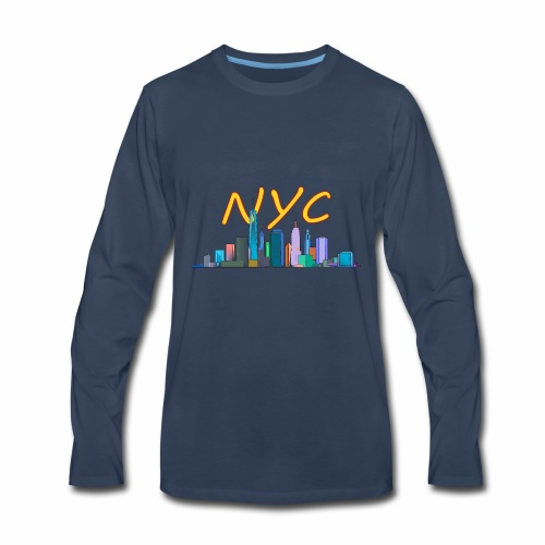 New york my love - Men's Premium Long Sleeve T-Shirt