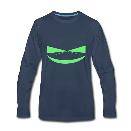 Troll's Smile - Men's Premium Long Sleeve T-Shirt