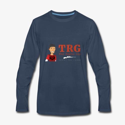 That Regular Guy Logo - Men's Premium Long Sleeve T-Shirt