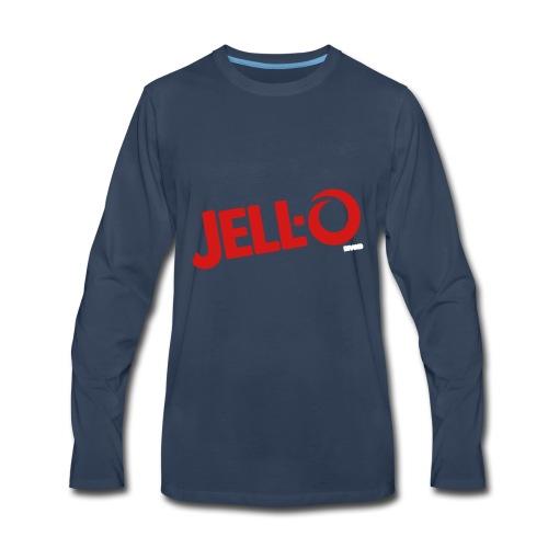 Jell O logo - Men's Premium Long Sleeve T-Shirt