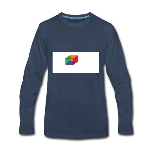 Cubical - Men's Premium Long Sleeve T-Shirt