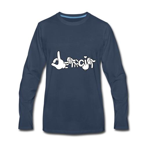 Detroit Living - Men's Premium Long Sleeve T-Shirt