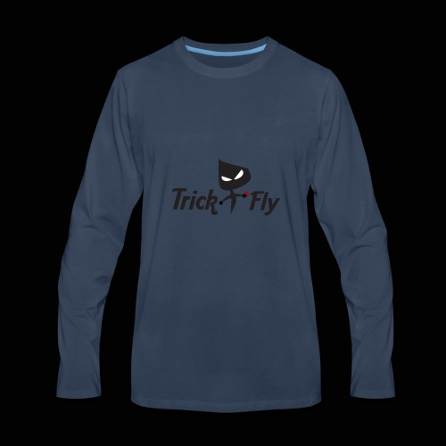 logo_T2F_b - Men's Premium Long Sleeve T-Shirt