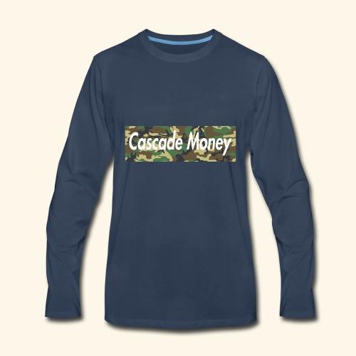 Cascade money camo - Men's Premium Long Sleeve T-Shirt