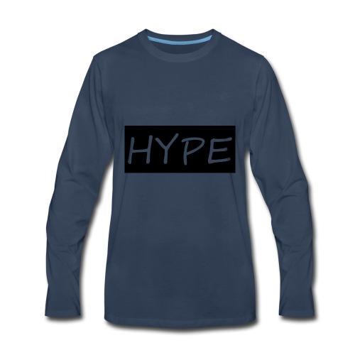 HYPE MERCH - Men's Premium Long Sleeve T-Shirt