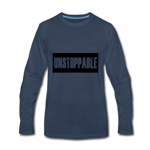 Unstoppable - Men's Premium Long Sleeve T-Shirt