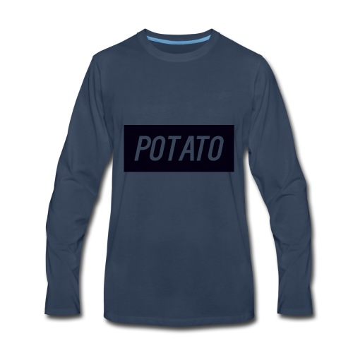The Potato Shirt - Men's Premium Long Sleeve T-Shirt
