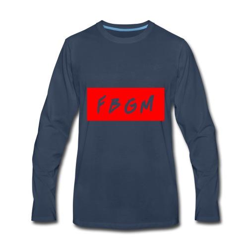 fbgm - Men's Premium Long Sleeve T-Shirt