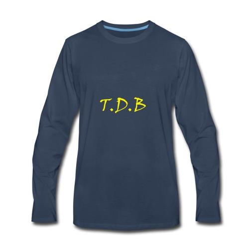 T.D.B LOGO - Men's Premium Long Sleeve T-Shirt