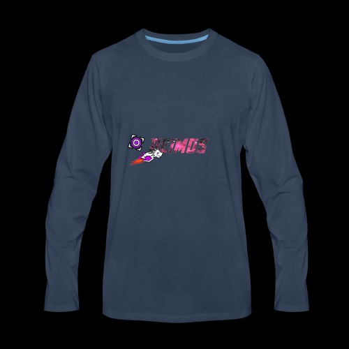 Banner Art Copy - Men's Premium Long Sleeve T-Shirt