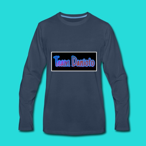 Team Danioto Classic Long Sleeve Shirt! - Men's Premium Long Sleeve T-Shirt