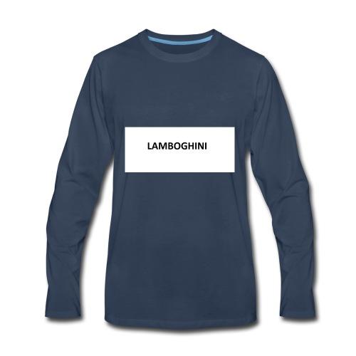 LAMBOGHINI SHIRT - Men's Premium Long Sleeve T-Shirt