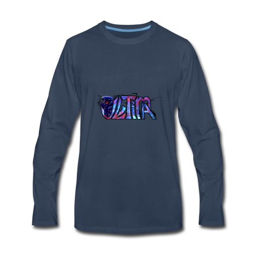 ultima logo t shirt design by toxic sparkle d5rx9e - Men's Premium Long Sleeve T-Shirt