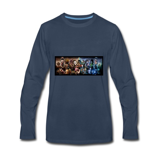 horror*9 - Men's Premium Long Sleeve T-Shirt