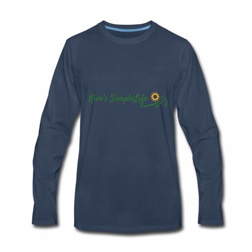 Kim's SimpleLife Tee - Men's Premium Long Sleeve T-Shirt