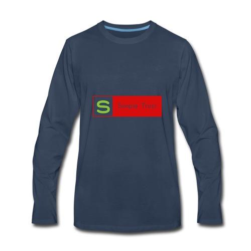 Simpletrust - Men's Premium Long Sleeve T-Shirt