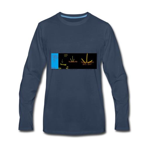 historic Team TA935 logos - Men's Premium Long Sleeve T-Shirt