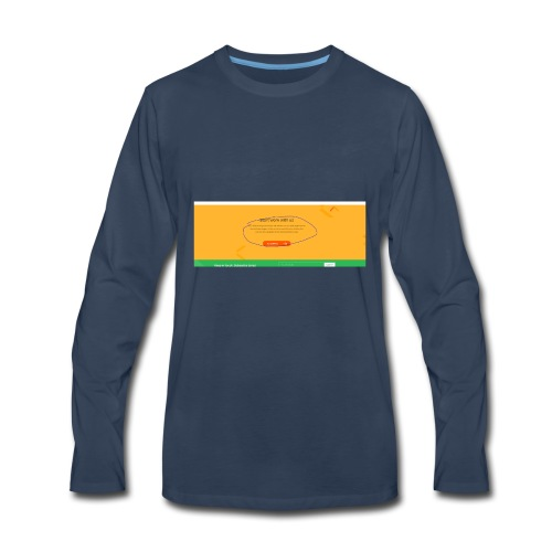 start - Men's Premium Long Sleeve T-Shirt