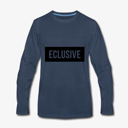 Exclusive Black Box Logo - Men's Premium Long Sleeve T-Shirt