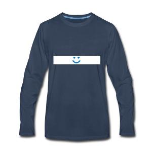 WindowsHello Poster 1920 1600x300 hello - Men's Premium Long Sleeve T-Shirt
