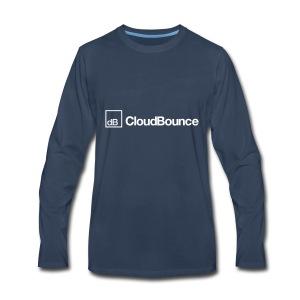 CloudBounce - Men's Premium Long Sleeve T-Shirt