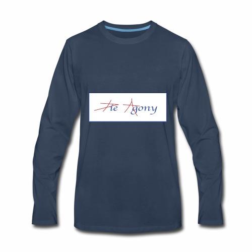 die agony2 - Men's Premium Long Sleeve T-Shirt