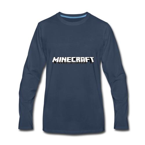 Mincraft MERCH - Men's Premium Long Sleeve T-Shirt