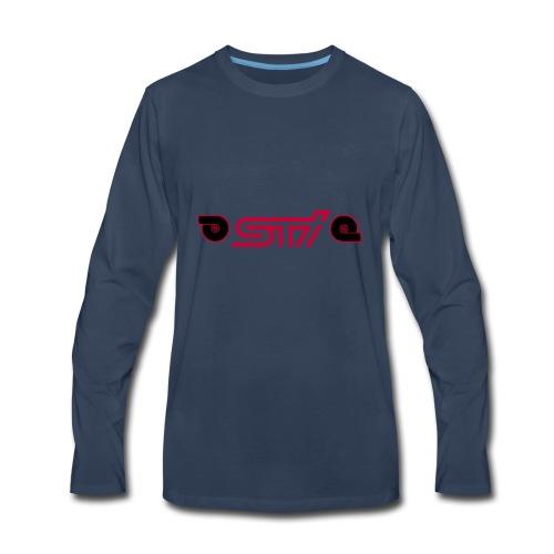 STI W/TURBO - Men's Premium Long Sleeve T-Shirt