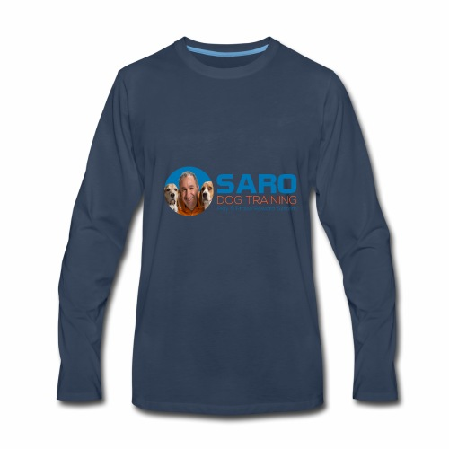 Saro Dog TrainingLogo - Men's Premium Long Sleeve T-Shirt