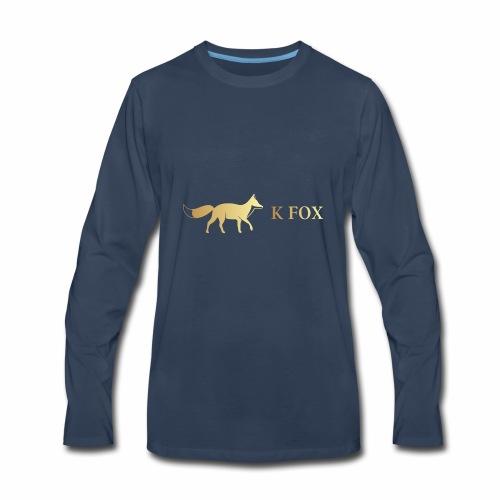 K Fox Black Gold - Men's Premium Long Sleeve T-Shirt
