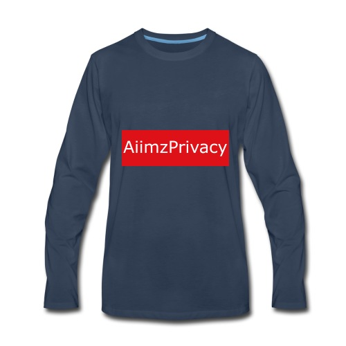 AiimzPrivacy's mouse pad - Men's Premium Long Sleeve T-Shirt