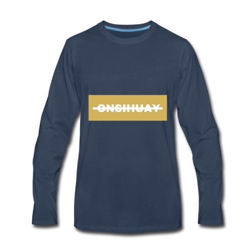 ONSIHUAY (Gold Editon) - Men's Premium Long Sleeve T-Shirt