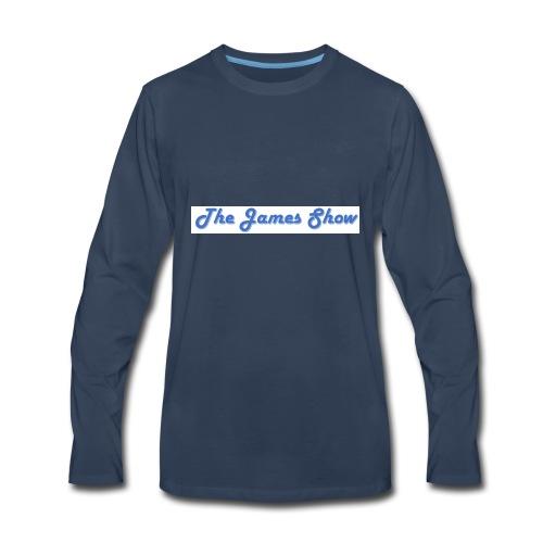 The James Show - Men's Premium Long Sleeve T-Shirt