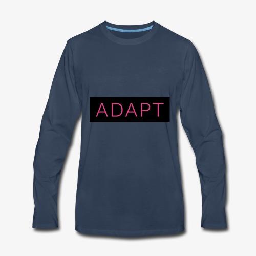 ADAPT Pink - Men's Premium Long Sleeve T-Shirt