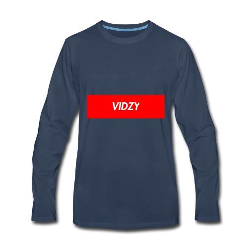 Vidzy - Men's Premium Long Sleeve T-Shirt