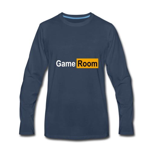 Game_Hub - Men's Premium Long Sleeve T-Shirt