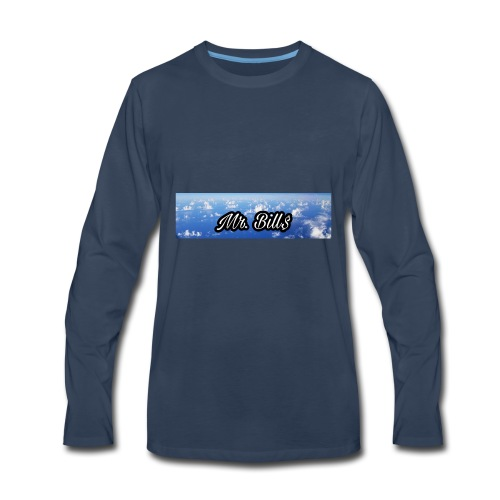 Mr. Bill$ logo - Men's Premium Long Sleeve T-Shirt