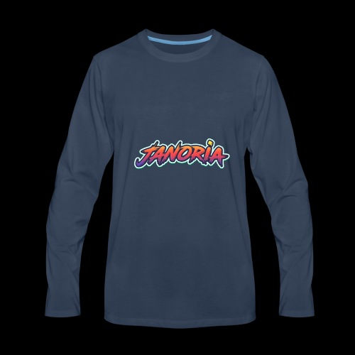 Janoria's Name - Men's Premium Long Sleeve T-Shirt