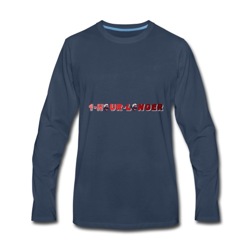 1 Hour Collection - Men's Premium Long Sleeve T-Shirt