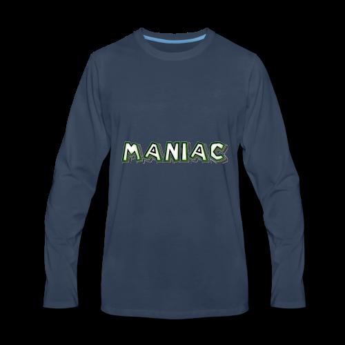 Maniac: Green Glow Edition - Men's Premium Long Sleeve T-Shirt
