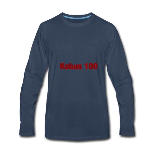 Kobus 100 - Men's Premium Long Sleeve T-Shirt