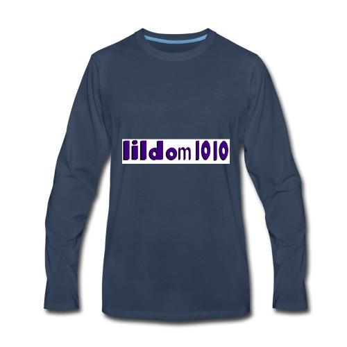 lildom 1010 purple and bLACK - Men's Premium Long Sleeve T-Shirt