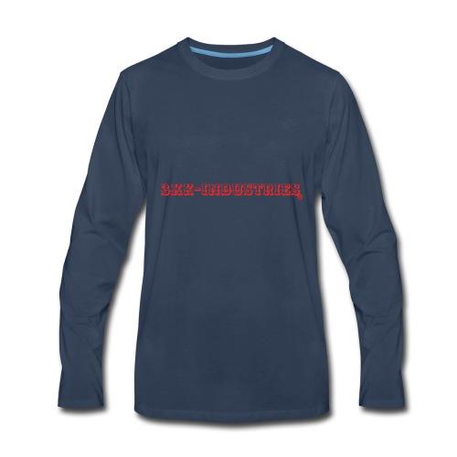 Logomakr 8SPEWM - Men's Premium Long Sleeve T-Shirt