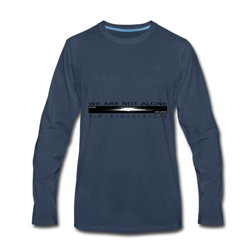 We are not alone - Men's Premium Long Sleeve T-Shirt